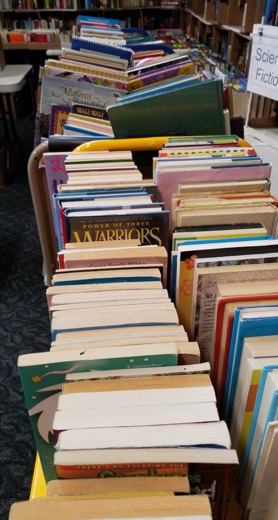 So. Many. Books. (Pat Harper photo)